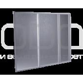 Bath curtain ODA (3-leaf polystyrene)