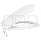 "Seats ODA for toilet ""Kronos"", plastic mount"