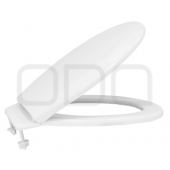 "Seats ODA for toilet ""Universal"" with a strap, plastic mount"