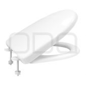 "Seats ODA for toilet ""Karina"", plastic mount"