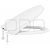 "Seats ODA for toilet ""Karina"", microlift mount"