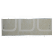 "Screen under the bath ODA ""Station wagon"" (creamy marble)"